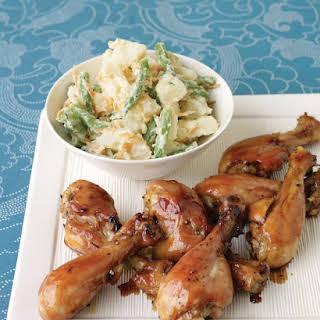 Honey-Soy Glazed Chicken.