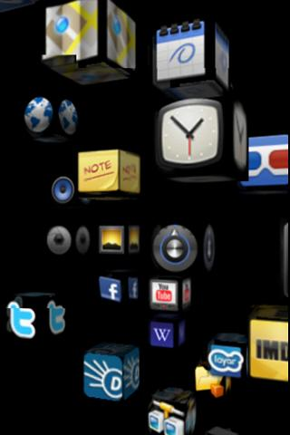 homescreen 3D (full version) - screenshot