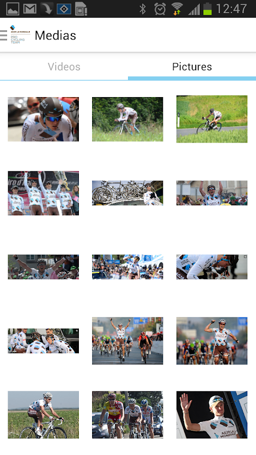 AG2R LA MONDIALE Cycling Team - screenshot