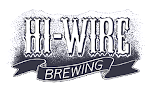 "Logo of Hi-Wire Lowes Foods ""Strawberry Wheat Collabeeration"""