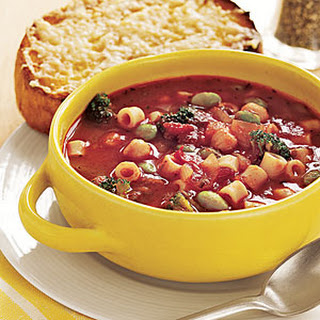 Pasta and Bean Soup.
