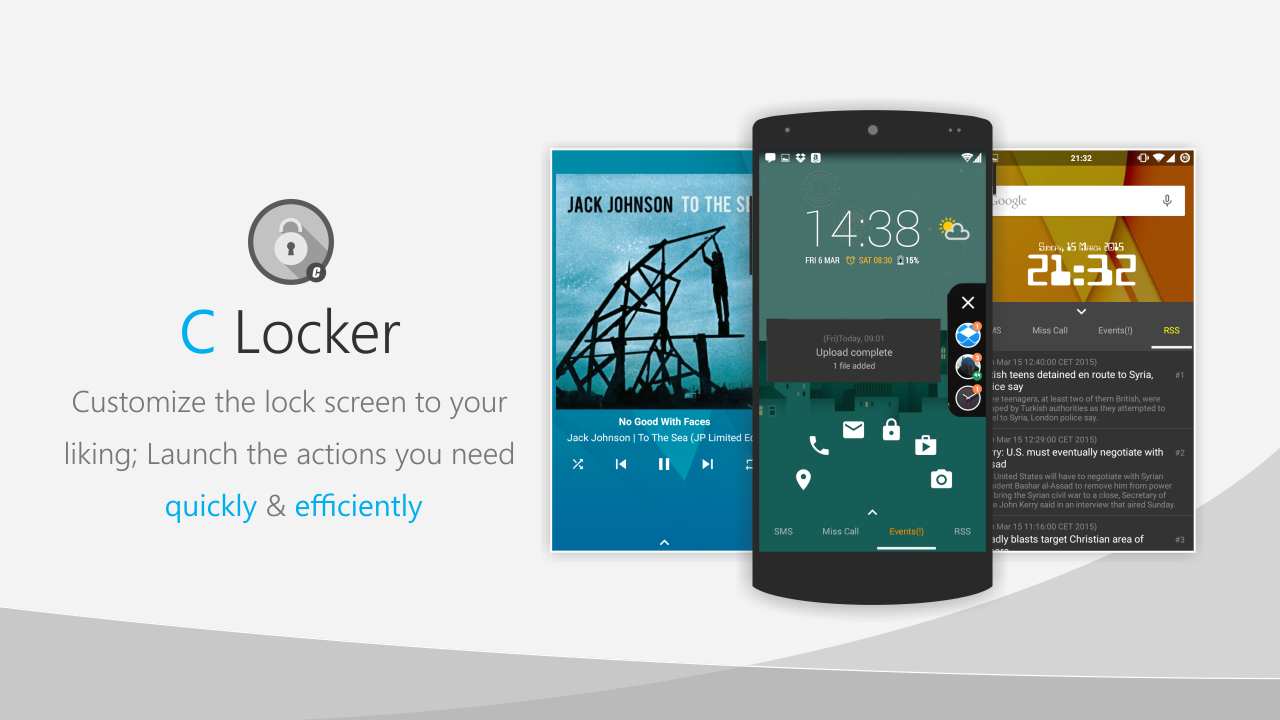 C Locker Pro (Widget Locker) para Android