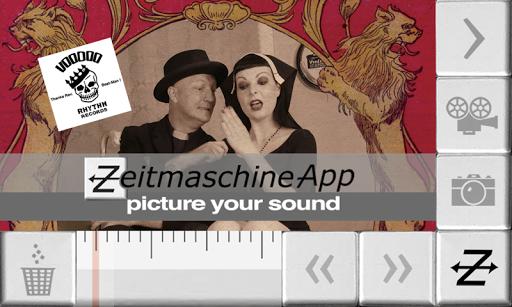 Zeitmaschine-App