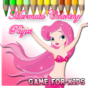 Princess  Mermaid Coloring icon