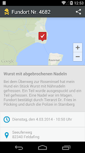 GiftköderRadar Screenshot