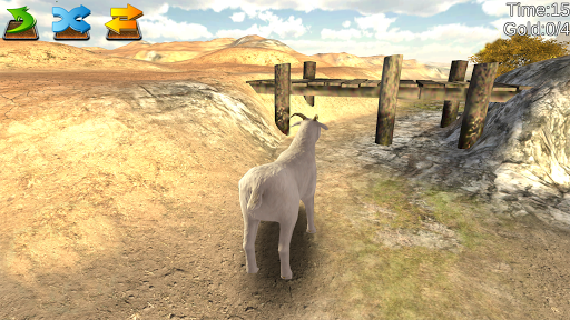山羊用頭撞粉碎模擬器