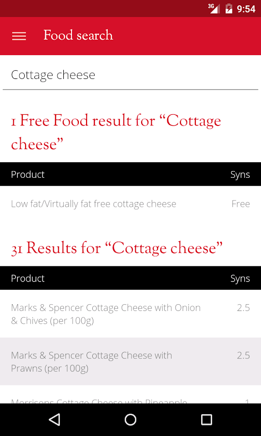 Slimming World- screenshot