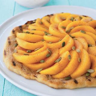 Peach Ricotta Tart