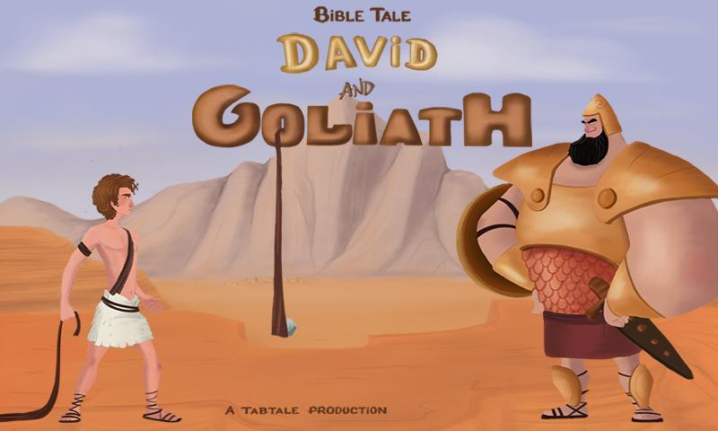 "the story of david and goliath Here is one of the best bible stories for children, ""david and goliath story""long long time ago, the god was looking for a new king of israel to replace king saul, who had displeased him."