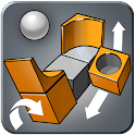 Cubo puzzle en 3D icon