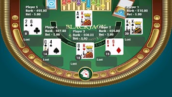 Screenshot of Blackjack Trainer