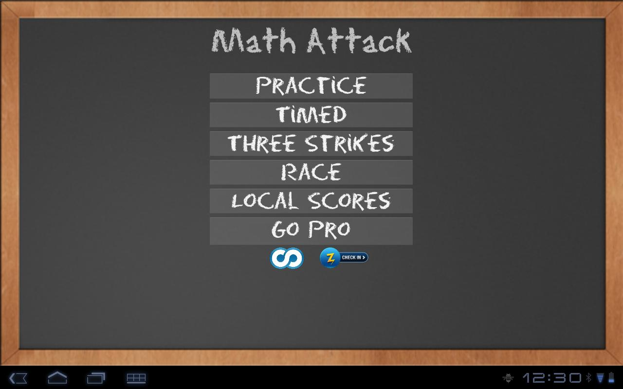 Math Attack - screenshot