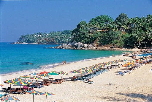 Thailand-surin-beach_phuket - Surin Beach on Phuket, Thailand.