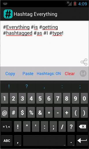 Hashtag Everything