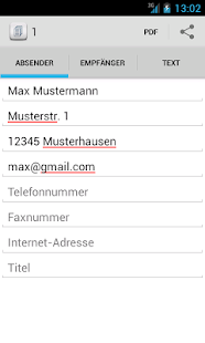 Brief schreiben - Tex10- screenshot thumbnail