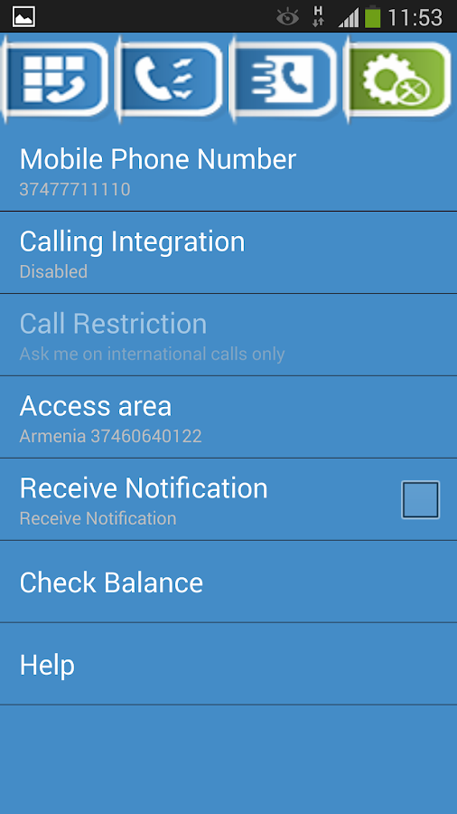 TagCalls - International Calls- screenshot