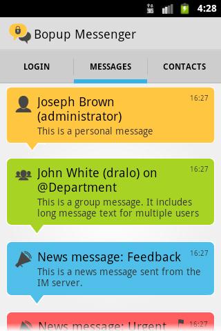 Bopup Messenger 1.5.0.181208 screenshots 7