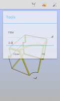 Screenshot of om3DCAD 3D CAD Modeler