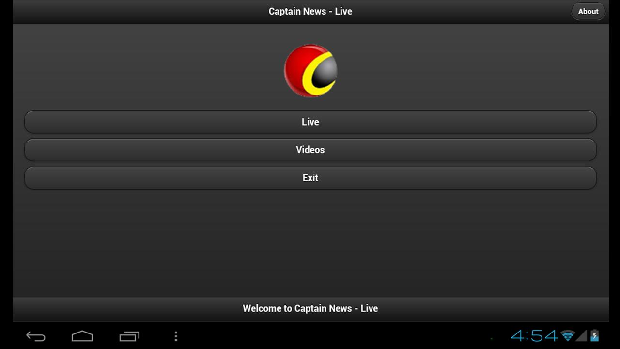 Captain News- screenshot