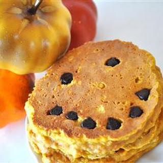 Jack-O-Lantern Pumpkin Pancakes