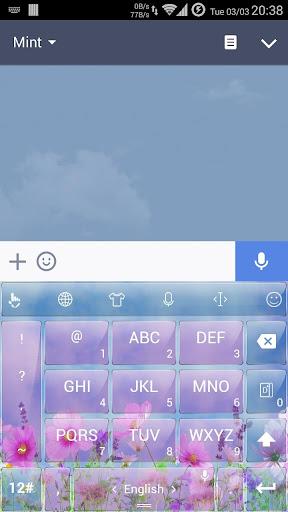 玩個人化App|キーボードのテーマ GFlower2免費|APP試玩