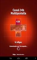 Screenshot of +24 Canal 24H Multipantalla