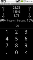 Screenshot of Tip Calculator Pro