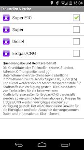 ADAC Spritpreise - screenshot thumbnail