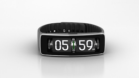 3D Flip Clock Pro For Gear Fit
