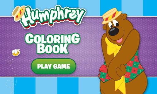 Humphrey B Bear Coloring Book