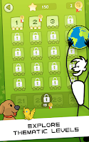 Screenshot of Letter Zap Classic