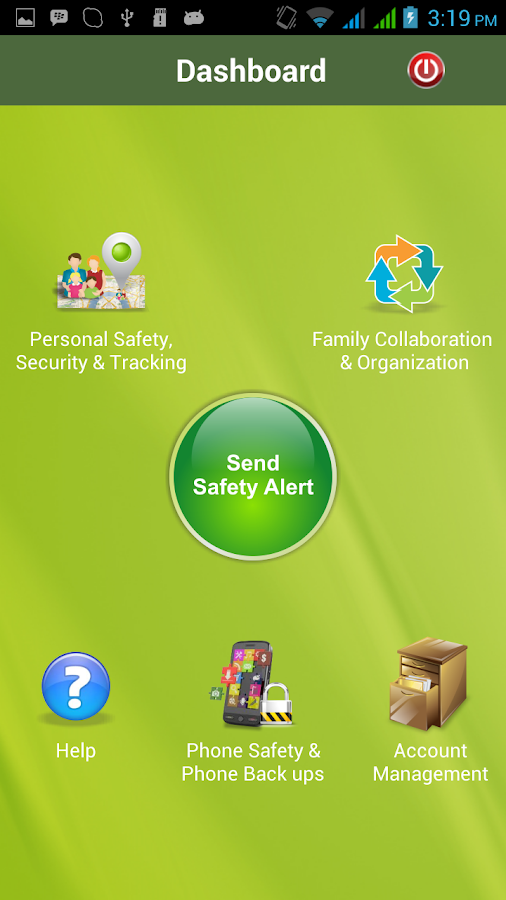 Rapid Protect Family Manager - screenshot
