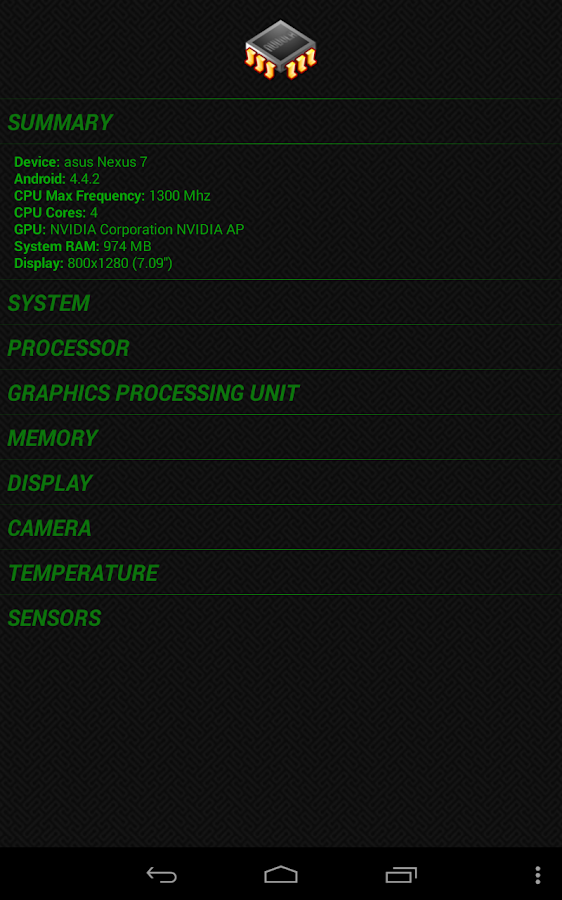 System Info Droid - screenshot
