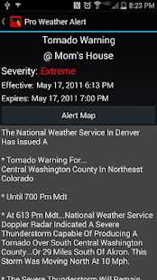 Pro Weather Alert- screenshot thumbnail