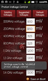 Proton Voltage Control - screenshot thumbnail