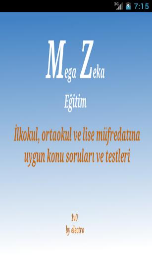 Mega zeka ilkokul 3