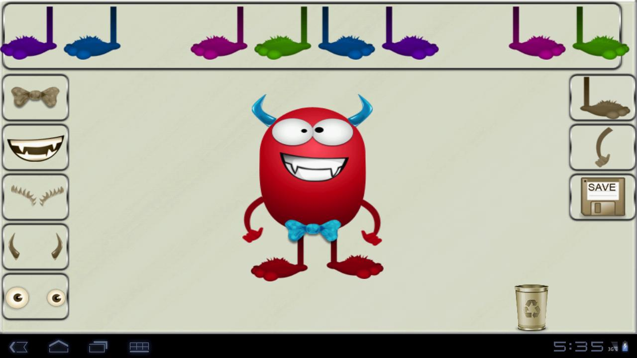 Monsters Creator - screenshot