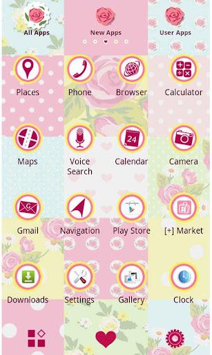 Cute Theme-Rose Quilt- 1.0 Windows u7528 2