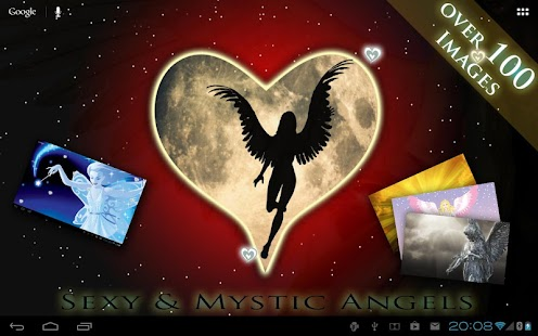 FREE ANGELS LIVE WALLPAPER HD - screenshot thumbnail