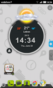 TSF Shell Cyanogen Light HD - screenshot thumbnail