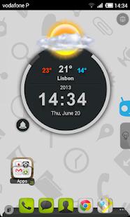 TSF Shell Cyanogen Light HD - screenshot thumbnail