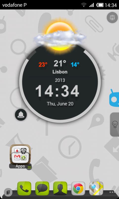 TSF Shell Cyanogen Light HD - screenshot