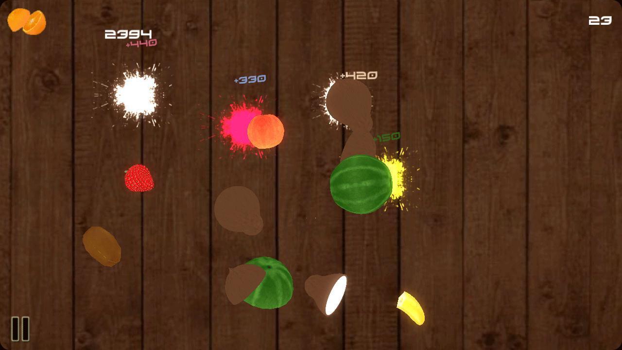 Ninja fruit cutter game free download - Fruit Kongfu Screenshot