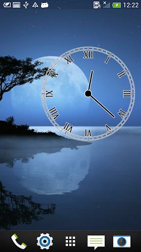 透明 模擬時鐘
