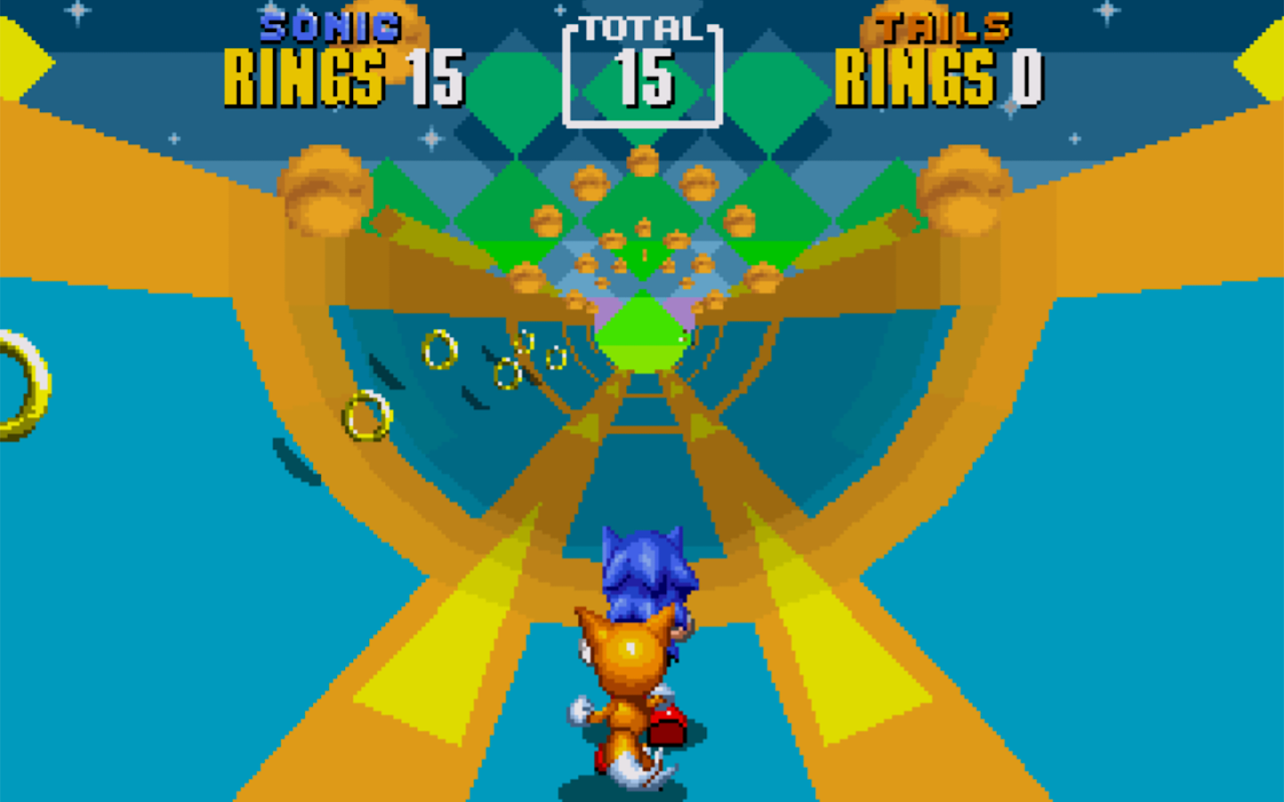 Sonic The Hedgehog 2- screenshot