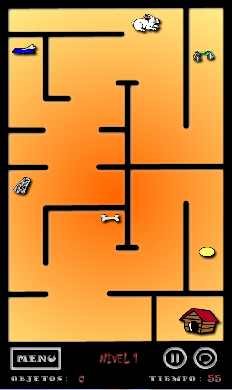 The maze of Pipo- screenshot