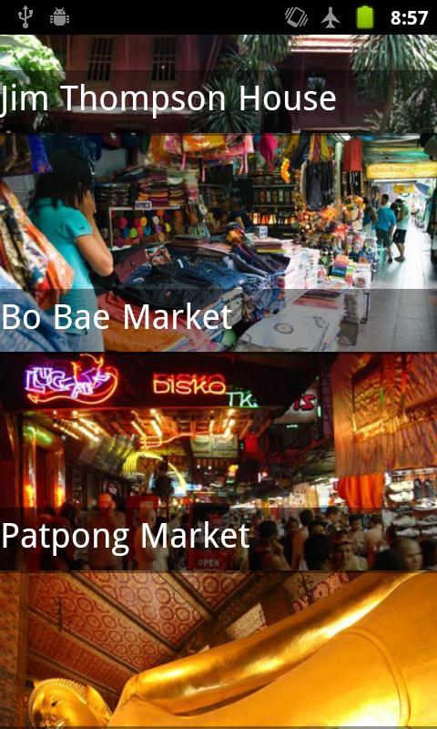 Thailand Travel Guide- screenshot