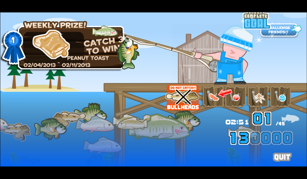 Fish and serve lake fishing android apps on google play for Lake fishing games