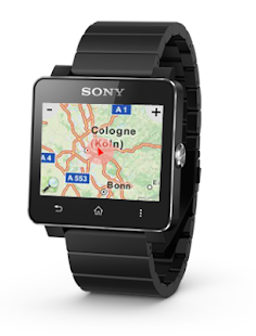 GPS Maps for SmartWatch2