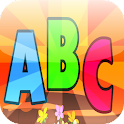 ABC alphabet for kids icon